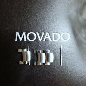 Movado watch extra links.